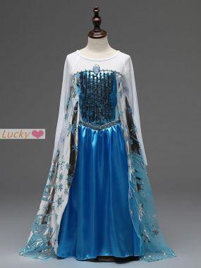 Костюм платье Эльзы  Frozen роста 110, 120 см