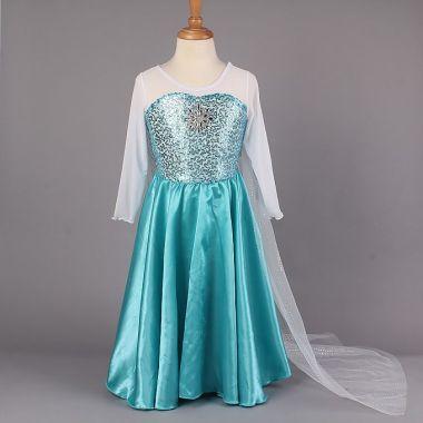 Платье Эльза Холодное сердце 110 размер на 100 рост