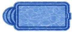 Композитный бассейн Марокко 8,0х3,18х1,48 м