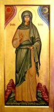 Ева, праматерь (мерная икона)