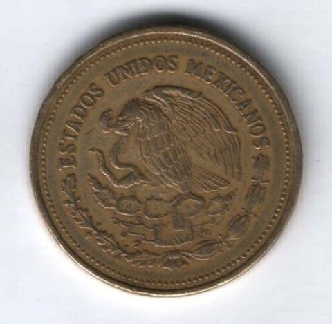 1000 песо 1989 г. Мексика