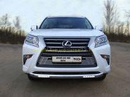 Защита переднего бампера с ДХО 76.1 мм для Lexus GX 2013 -