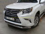 Защита переднего бампера 76 мм для Lexus GX 2013 -