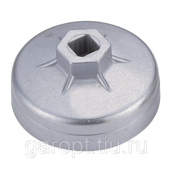 Съёмник масляных фильтров, 74 мм, 15 граней, торцевой МАСТАК 103-44145