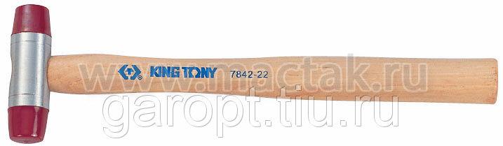 Киянка 28 мм, 165 г, полиуретановые сменные насадки KING TONY 7842-28