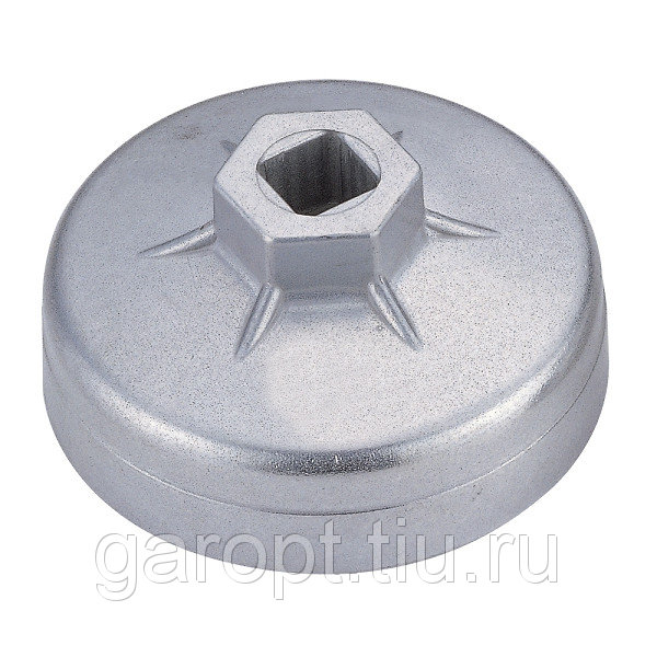 Съёмник масляных фильтров, 74 мм, 8 граней, торцевой МАСТАК 103-44144