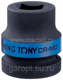 """Головка торцевая ударная четырехгранная 1"""", 22 мм, футорочная KING TONY 851422M"""