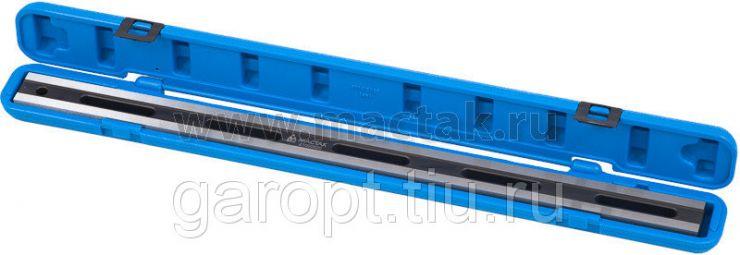 Линейка поверочная для измерения геометрии поверхности, 600 мм, двутавровая МАСТАК 210-00520