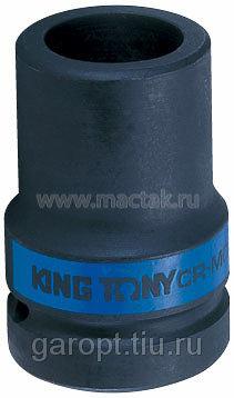 "Головка торцевая глубокая ударная четырехгранная 1"", 21 мм, футорочная KING TONY 853421M"