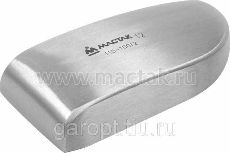 Поддержка (наковальня) литая №12, угловая тонкая МАСТАК 115-10012