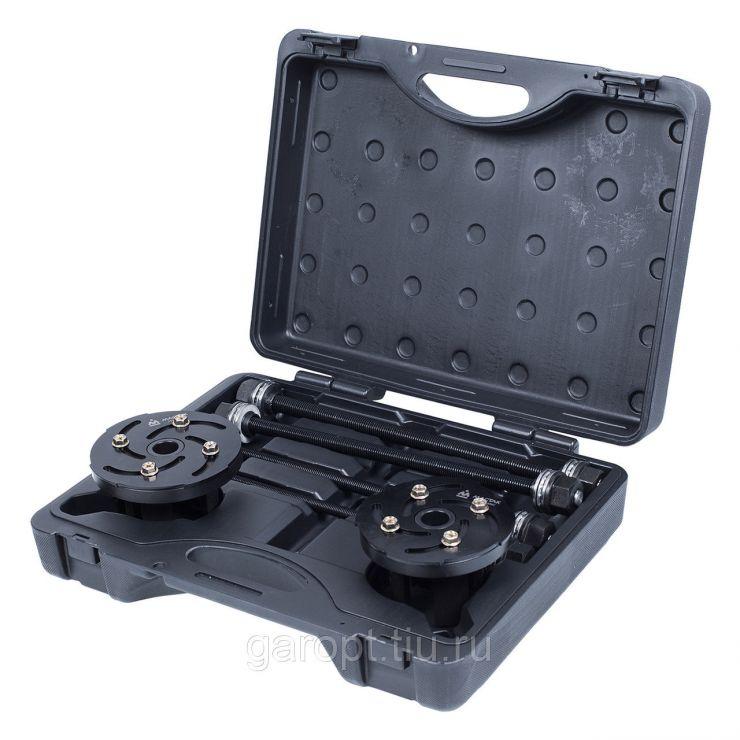 Набор оправок для монтажа и демонтажа сайлентблоков, 34-82 мм, кейс, 6 предметов МАСТАК 110-20006C