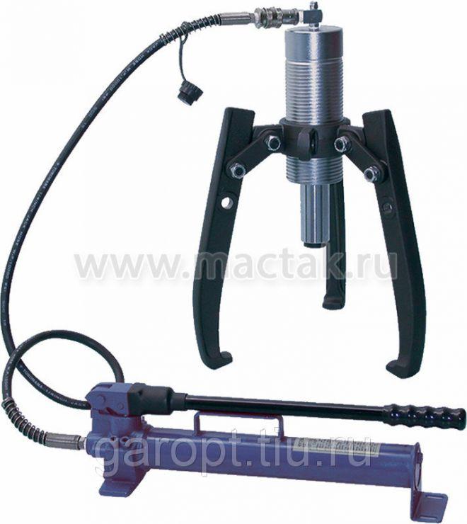 Съёмник подшипников гидравлический, 30 т, до 550 мм, 3 предмета МАСТАК 104-19330