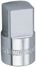 """Насадка торцевая 1/2"""", 10 мм, четырехгранная KING TONY 401410M"""