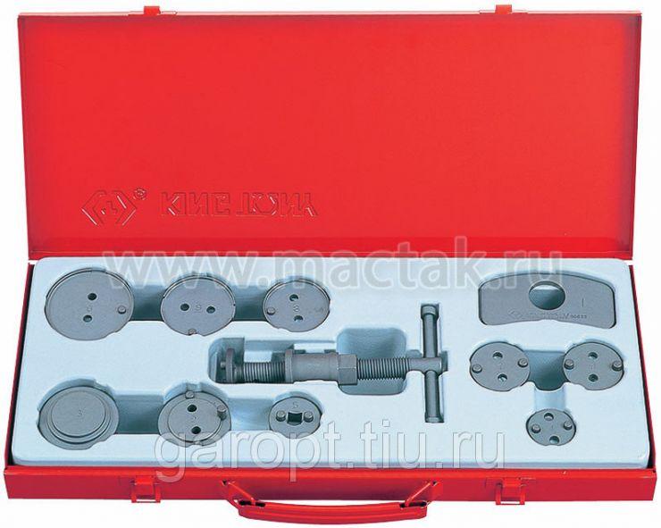 Набор для утапливания поршней суппортов дисковых тормозов, 11 предметов KING TONY 9BC22