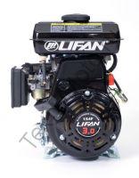Lifan 154F четырехтактный бензиновый двигатель в стандартной комплектации, мощностью 3,0 л. с., и диаметром выходного вала 16 мм.
