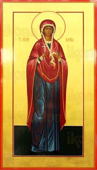 Марина Антиохийская (мерная икона)