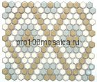 PS2326-42. Мозаика СОТЫ, серия PORCELAIN, размер, мм: 306*350*5 (NS Mosaic)