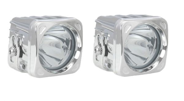 Комплект Светодиодных фар (2шт.) Optimus: XIL-OP140 хром