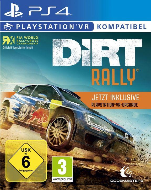 Игра Dirt Rally (с поддержкой VR) Русская Версия (PS4)