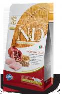 N&D Cat Low Grain Chicken & Pomegranate Neutered Низкозерновой корм для стерилизованных взрослых кошек, курица/гранат (10 кг)