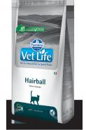 Vet Life Cat Hairball - Диета для кошек для выведения шерстных комочков (10 кг)