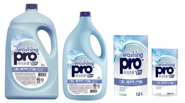 CJ Lion Средство для мытья посуды Washing Pro, флакон 3000 мл