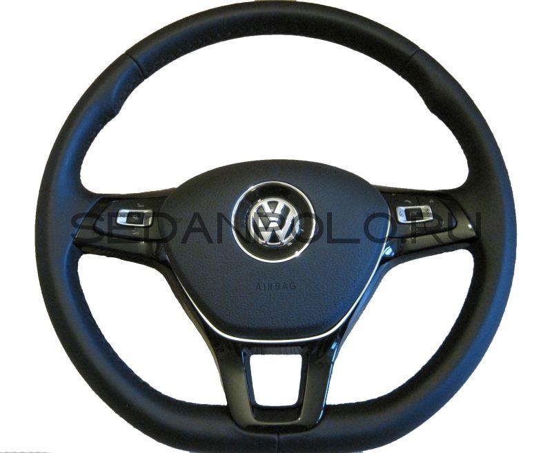 Рулевое колесо (мультируль, кожа) VW (VAG) 2015-