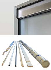 ECLISSE VITRO SYNTESIS комплект для стеклянной двери (без зажимов) - OPVEP1