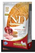 N&D Dog Low Grain Chicken & Pomegranate Medium Adult Низкозерновой корм для взрослых собак средних пород Курица/гранат (800 г)