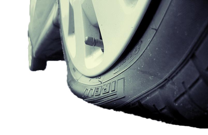 Герметизация обода бескамерной шины