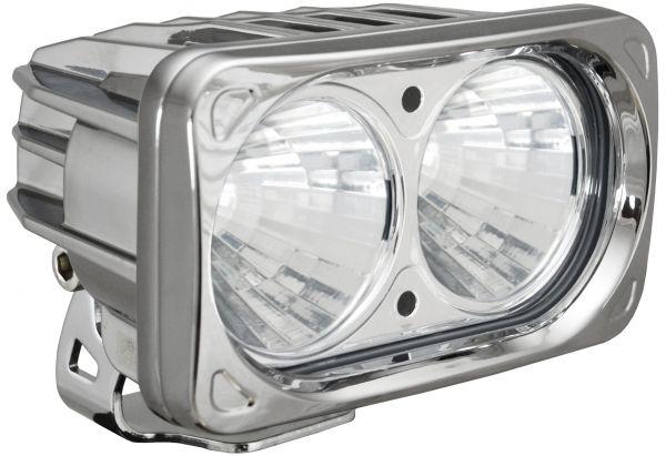 Комплект Светодиодных фар (2шт.) цвета Хром Optimus: XIL-OP260