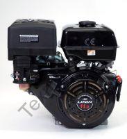 Lifan 182F D25 (11 л. с.) с катушкой освещения 7Ампер (84Вт) четырехтактный бензиновый двигатель в стандартной комплектации, мощностью 11 л. с., и диаметром выходного вала 25 мм