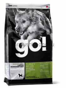 GO для щенков и собак с индейкой д/чувств. пищеварения LID