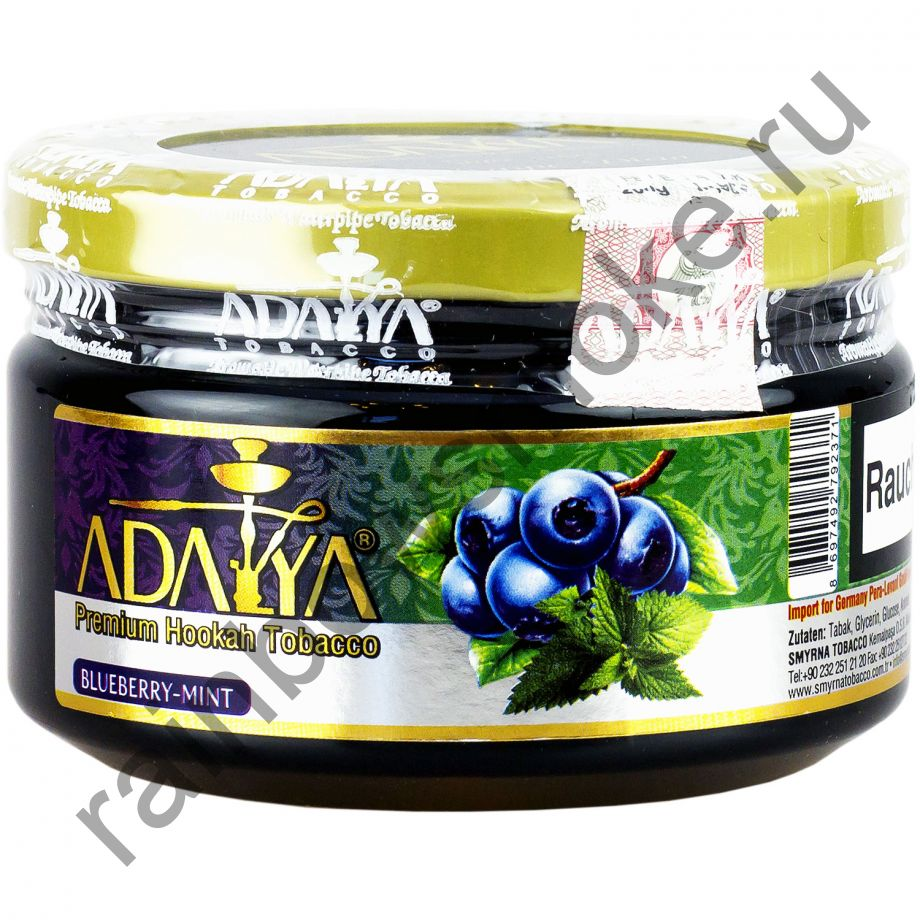 Adalya 250 гр - Blueberry Mint (Черника c Мятой)