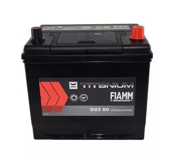 Автомобильный аккумулятор АКБ FIAMM (ФИАММ) BLACK Titanium D2360 60Ач О.П.