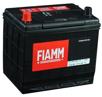 Автомобильный аккумулятор АКБ FIAMM (ФИАММ) BLACK Titanium D23X60 60Ач П.П.