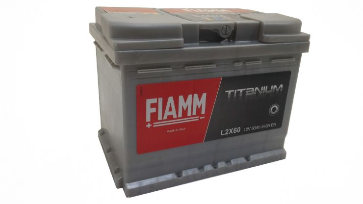 Автомобильный аккумулятор АКБ FIAMM (ФИАММ) BLACK Titanium L2X60 60Ач П.П.