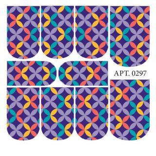 Слайдер-дизайн для ногтей № 0297