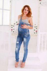 Комбинезон джинсовый (зауженный) FLORIDA 311078, 311096
