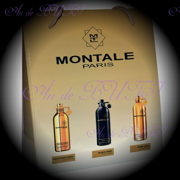 Набор Montale 3 по 15 ml (Aoud Queen Roses, Black Aoud, Pure Gold)