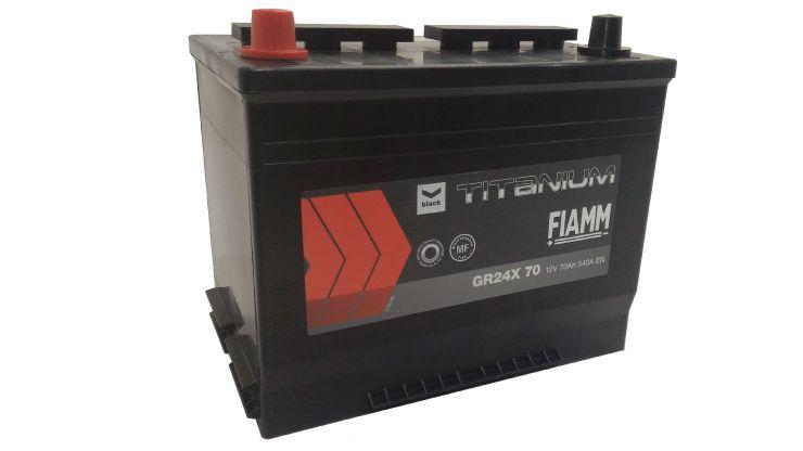 Автомобильный аккумулятор АКБ FIAMM (ФИАММ) BLACK Titanium GR24X70 70Ач П.П.