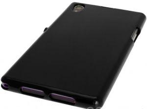 Накладка Sony C6903 Xperia Z1 силикон (black)