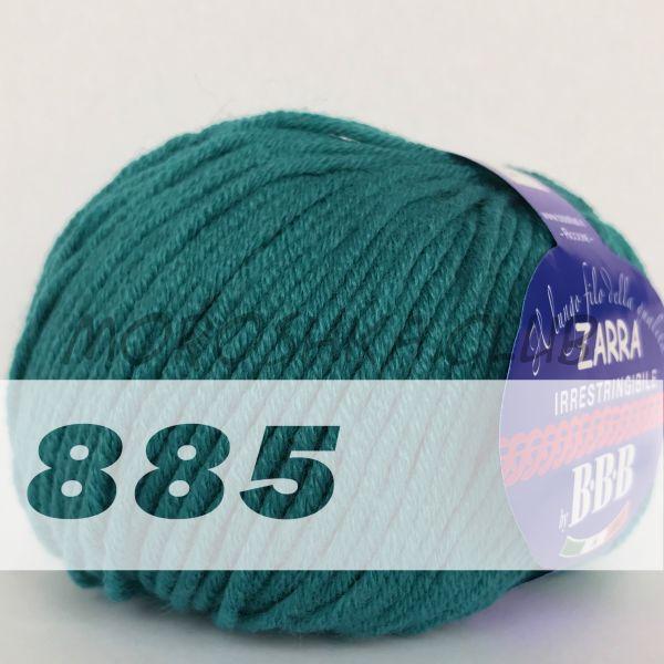 Бирюзовый Zarra BBB (цвет 885)