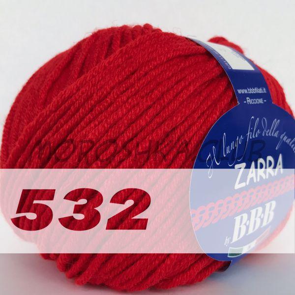 Красный Zarra BBB (цвет 532)