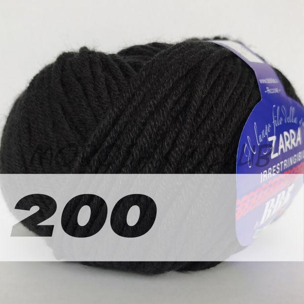 Чёрный Zarra BBB (цвет 200)
