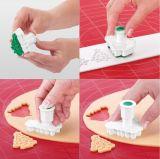 Формочки с печатью для печенья DELICIA 4 шт рождественские 630857