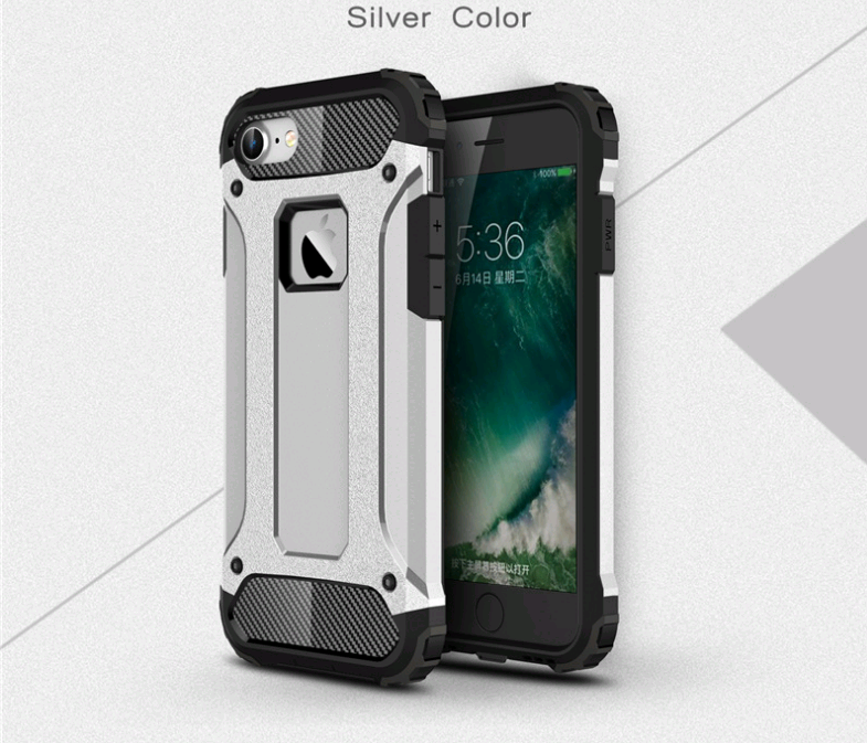 Чехол  Tough Armor Tech iPhone 6/6s silver