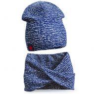 Комплект шапка и шарф для мальчика 3-5 лет №SG109
