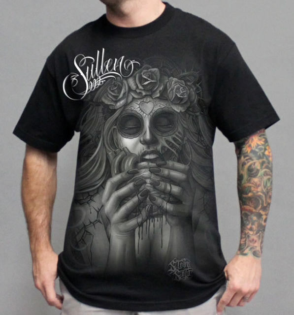 MORBID Black SULLEN MEN'S Tee Shirt