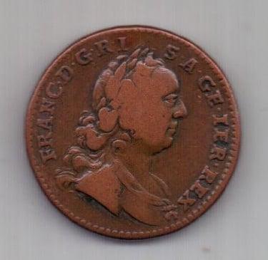 1 крейцер 1760 г. Австрия